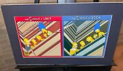 Simpsons Cel Beatles Then And Now Rare Animation Cell Signed Matt Gorening
