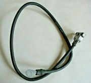 Nos Gm Chevy 50and039s 60and039s Delco Packard Negative Battery Cable 2e38