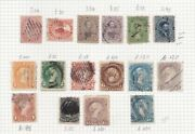 1851-1935 Canada - Lot Used 173 Stamps Sg Over Andpound3.000