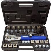 Universal Hydraulic Flaring Tool Set With Tube Cutter
