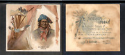 1888 N36 Allen And Ginter American Indian Chiefs '' Geronimo''  3308