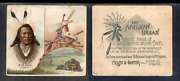 1888 N36 Allen And Ginter American Indian Chiefs And039and039 Big Elk And039and039 3304