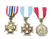 Udc Korea Wwii National Defense Medal United Daughters Of The Confederacy Cross