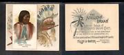 1888 N36 Allen And Ginter American Indian Chiefs And039and039 Grey Eagle And039and039 3300