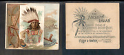 1888 N36 Allen And Ginter American Indian Chiefs '' Chief Gall  '' 3310