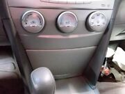 Temperature Control 10 11 Toyota Camry W/o Hybrid Manual Rotary Control Knobs