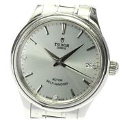 Tudor Style 12300 3p Diamond Date Automatic Winding Stainless Menand039s Watch[b0604]