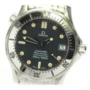 Omega Seamaster 300 Date 2552.80 Self-winding Stainless Menand039s Watch [b0604]
