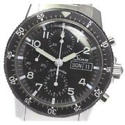 Sinn 103 Chronograph Day-date Automatic Black Dial Stainless Menand039s Watch [b0604]
