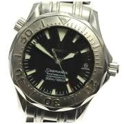 Omega Seamaster 300 Wg Bezel 2236.50 Automatic Stainless Menand039s Watch [b0604]