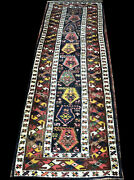 Astonishing Antique 3and039 X 12and039 2nd To None Shahsavan Runner Rug