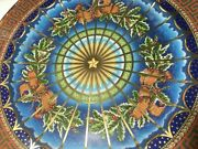 Versace Wall Plate Christmas Silent 1999 Limited Gift Rosenthal New Sale