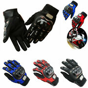 Motorcycle Racing Riding Dirt Street Motorbike Full Finger Gloves Touch Screen