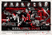 Reservoir Dogs By Tyler Stout - Variant - Rare Sold Out Mondo Print