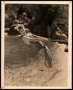Lucille Ball Cheesecake Alluring Pose Swimsuit 1930s Mgm Portrait Orig Photo 456