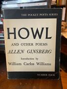 Signed With Drawing - Allen Ginsberg - Howl And Other Poems - 1958 - 1st/6th
