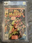 Ms. Marvel 1 Cgc 9.8 1/77 White Pages