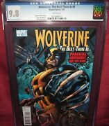 Wolverine Best There Is 1 Marvel Comic 2010 Series - Cgc 9.8