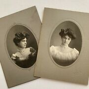 Antique Cabinet Card Photo Very Beautiful Young Woman Geneseo Il Id Rose Weston