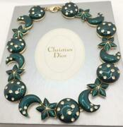 Vintage Christian Dior Necklace Jewelry Collection Accessories Rare