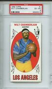 1 Wilt Chamberlain Rookie Iconic 1st Topps Card Psa 6 Los Angeles Lakers Rare