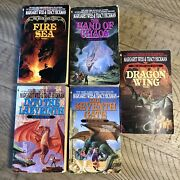 The Death Gate Cycle Set 5 Book Lot Paperback Weis Hickman Dragon Sea