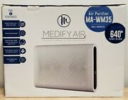 Medify Ma-35 Air Purifier H13 Hepa Filter Wall Mounted [new In Open Box] Mawm-35