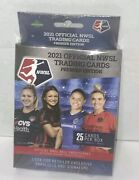 Nwsl 2021 Official Trading Cards Premier Edition Hanger Box Womens Soccer