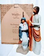 Willow Tree The Christmas Story Nativity Set Large Scale Size 14.5 The Tallest