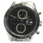 Tag Heuer Carrera Chronograph Cv2010 Automatic Stainless Menand039s Watch [b0605]