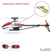 Alzrc 3d Fancy Devilx360 Fbl Racing Rc Helicopter 360mm Main Rotor Motor 60a Esc