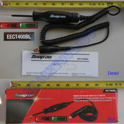 New Snap On Black Cable Digital Lcd Circuit 12 Volt Test Light Eect400bl Tester
