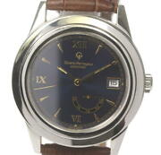Girard-perregaux Date Power Reserve 1020 Automatic Navy Dial Menand039s Watch [u0605]