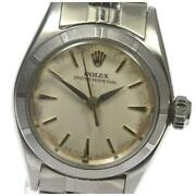 Rolex Oyster Perpetual Ref.6623 Cal.1130 Automatic Stainless Ladies Watch[b0605]