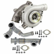For Ford F250 E350 Super Duty Excursion 6.0 Diesel Turbo Charge Pipe Kit Gap