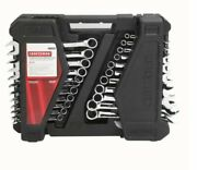 Craftsman 70699 Offset 52 Pieces Combination Wrench. Heavy Duty Case