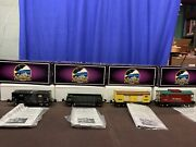 Mth Tinplate Traditions 800 Series 4 Car Freight Set