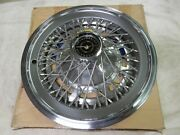 Wheel Cover Hubcap Deluxe Wire Spoke 1974 Ford Thunderbird Nos
