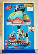 Lemax Christmas Yuletide Carousel Music + Motion 11 Inch New In Box