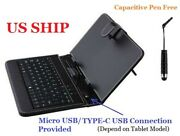 Universal Case Cover With Usb Keyboard For Android / Wins 7 - 10.2 Inch Tablet