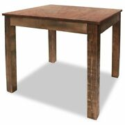 Solid Reclaimed Wood Dining Table Home Kitchen Furniture Natural