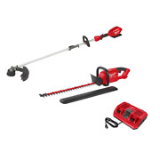 Milwaukee String Hedge Trimmer Charger Combo Kit 18v Lithium-ion 3-tool