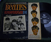 Songs, Pictures, Stories Of Fabulous Beatles Vj 1092 /vjlp 1062 Black Label