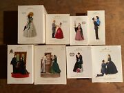 Hallmark Ornaments Lot Of 21 Gone With The Wind Scarlett Oand039hara