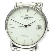 Portofino Date Iw351324 Self-winding Stainless Menand039s Watch From Japan[b0606]