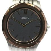 Citizen Eco-drive One Ar5004-59h / 8826-t022821 Solar Ss Menand039s Watch [b0606]