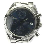 Omega Speedmaster Date 3511.80 Chronograph Automatic Ss Menand039s Watch [b0606]