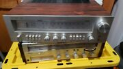 Vintage Concept 3.5 Stereo Receiver Tuner W/ Real Walnut Wood Side
