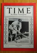 Time Roger Hornsby July 9 1928 Magazine No Label Boston Braves St Louis Cardinal
