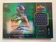 2012 Topps Triple Threads Russell Wilson Rookie Auto/jersey/patch 05/50